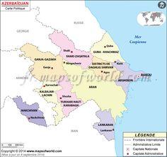 #Azerbaïdjan Carte