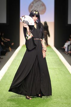 Love these abayas...dubai fashion week 2014