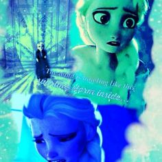Frozen~No escape from the storm inside...