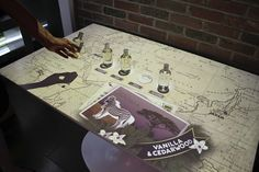 Kiehls interactive tables - Perch