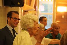 Prince Daniel, together with Ann-Marie Novotny at 90 + workout. Photo: Kungahuset.se