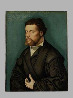 Portrait of a 29-year-old man, Hans Baldung Grien, 1526. Germanisches Nationalmuseum accession no. Gm1086