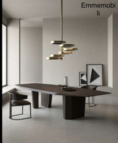 Furniture Dining Table, Dinning Table, Large Furniture, Furniture Styles, A Table, Furniture Design, Luxury Furniture Brands, Interiores Design, Contemporary