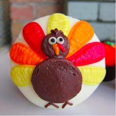 Turkey Cupcake. Or thanksgiving Day