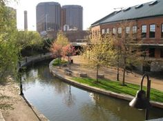 If you're looking for some peace and quiet - take a walk around the Canal Walk in Richmond, #Virginia