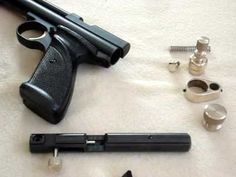 Gmac Custom Parts: modding a Crosman 2240 ALL FIVE VIDS IN ONE VID