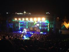 At night the festival started and i enjoyed it!! i was so moved and we danced all together. It was very happy day~~~~<3