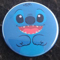 "Stitch of Lilo & Stitch Disney Movie Pins 1.75"" inch pinback buttons Badge"