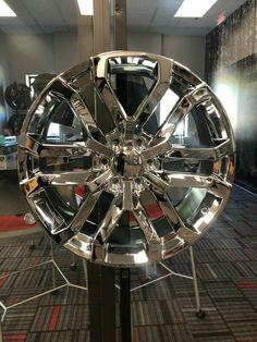 """4 New 2019 Silverado Wheels 20x9 Chrome OE 20"""" Silverado Denali Yukon Tahoe GMC · $995.00 Denali Yukon, Gmc Denali, Silverado Wheels, 2019 Silverado, 24 Rims, Quality Lingerie, Chrome, Auction, Ebay"""