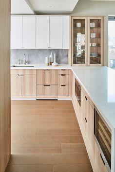 one vandam, the hudson company Kitchen Dinning, New Kitchen, Kitchen Decor, Modern Kitchen Design, Interior Design Kitchen, Nordic Interior, Rico Design, Interiores Design, Home Kitchens
