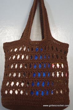 Free Crochet Pattern: Ecin Crochet Tote Bag photo tutorial