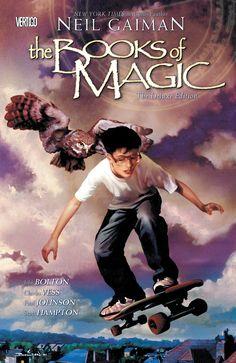 The Books of Magic by Neil Gaiman (Vertigo Comics)