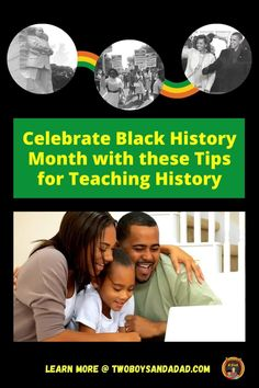 Celebrate Black History Month with some tips for teaching history, ideas for lessons, and resources. Learn about these 10 ideas for teaching elementary students about teaching about African-American History. You can use children's historical read alouds, build historical context, and ask families to share their family history or historical knowledge. Discover and learn more! #twoboysandadad Teaching Reading, Teaching Math, Teaching Resources, Teaching Ideas, Teaching American History, Teaching History, Important People In History, Parent Communication, Thing 1