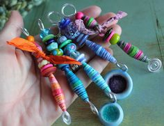 Jen Judd Rocks!: Modified Holiday Ornament Blog Hop Post