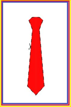 Molde imprimible Corbata de TOPA Disney Junior