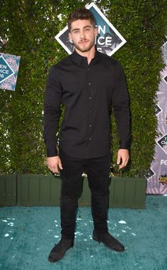 Cody Christian from Teen Choice Awards 2016 Red Carpet Arrivals All black everything. The Pretty Little Liars alum works the monochromatic look (and some impeccably-trimmed facial hair).