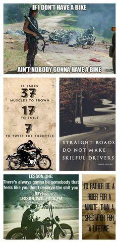 Favorite Biker Quotes