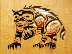 new haida tlingit wolf native american art whales native american and native american symbols. Black Bedroom Furniture Sets. Home Design Ideas