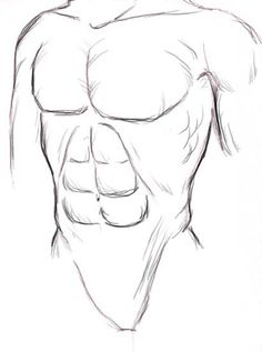 how to draw muscles step by step