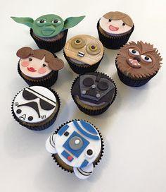 Tania Whiteley: Star Wars Cupcakes
