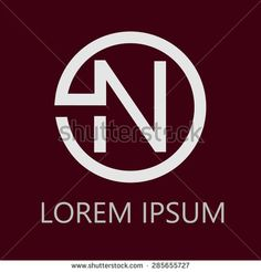 Logo letters N