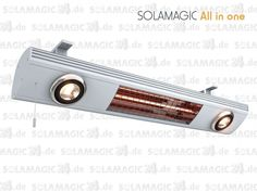 #Solamagic 1400 All in One - angenehme Beleuchtung und Sofortwärme auf Knopfdruck.