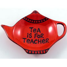 Tea is for Teacher. #thepaintedpeacock #teachergifts #teachergiftideas
