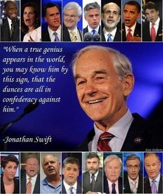 Tom Woods: History will remember the Genius of Ron Paul vs. a Confederacy of Dunces! | Peace . Gold . Liberty