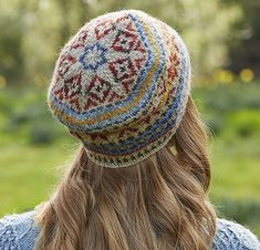 Ravelry: Georgia Fairisle Tam pattern by Marie Wallin