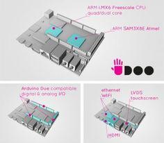 Arduino y mucho mucho mucho mas, hdmi, dual core, red, etc...