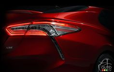 All-new 2018 #Toyota #Camry announced for Detroit Auto Show | Car News | Auto123