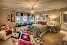 teen bedroom with bay window - Google Search