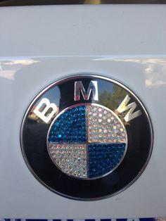 Swarovski Jeweled BMW Emblem by SparkleCoutureChloe on Etsy, $125.00