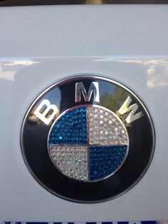 Swarovski Jeweled BMW Emblem by SparkleCoutureChloe on Etsy, $125.00