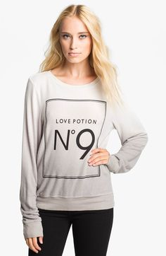 Main Image - Wildfox 'Love Potion' Sweatshirt