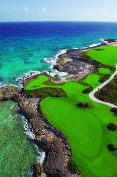 Golf Course at Out Islands of the Bahamas, Sandals Emerald Bay.