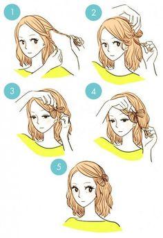 20 idée de coiffures faciles à faire