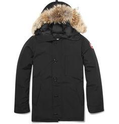 27d154f08 Canada Goose Chateau Coyote-Trim Parka Jacket Canada Goose Fashion, Cheap Canada  Goose,