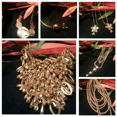 Statement necklace and more