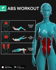 Abs Workout Routines, Gym Workout Tips, Dumbbell Workout, Workout Challenge, Workout Videos, At Home Workouts, Workout Body, Body Under Construction, Slim Waist Workout