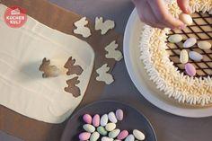 DIY - Torte zu Ostern verzieren, gateau with easter topping
