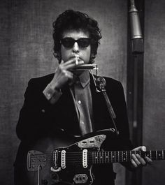 Coolest man in the world, with the coolest guitar...why not?!