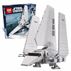 96.88$  Buy here - http://alibxi.worldwells.pw/go.php?t=32790384767 - LEPIN 05034 2503Pcs Star Wars Imperial Shuttle Model Building Kit Blocks Bricks Compatible kids Toy Gift With  10212 Gifts 96.88$