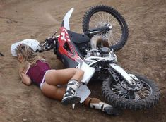 motocross sexy fall humor funny motorcycle