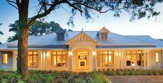 Façade inspiration, country home, ranch style home, farm house, rendered façade, new home idea