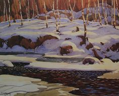 A. J. Casson Winter On The Don River