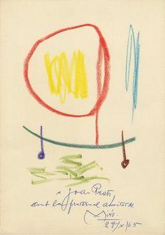 Joan Miró | Sans titre (1965).
