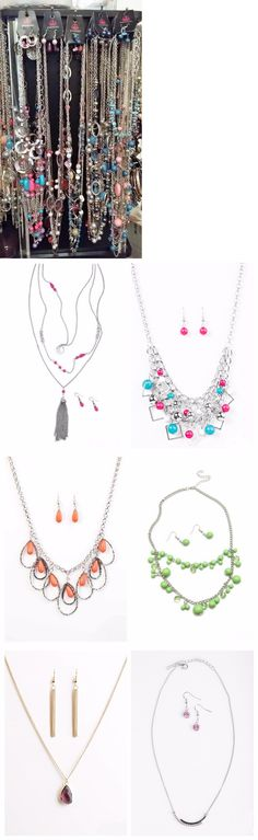 Mixed Items and Lots 10970: Paparazzi 27 Piece Jewelry Lot - 9 Necklaces 9 Earrings And 9 Bracelets -> BUY IT NOW ONLY: $90 on eBay!