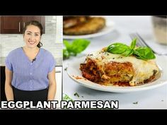 A classic Baked Eggplant Parmesan with breaded eggplants, marinara sauce, and hot bubbling mozzarella and parmesan. It's the ultimate Italian comfort food.