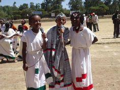 Cute Oromo kids, Oromia, Africa (East)  Culture and aspiring artists